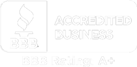 Better Business Bureau Accredited Business. Rating: A+