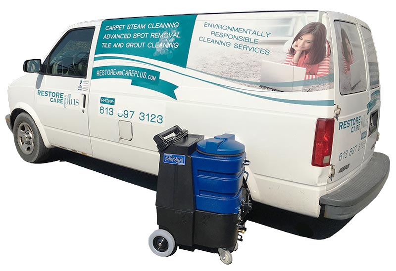 Tile and Grout Restoration Ottawa - Restore and Care Plus service vehicle